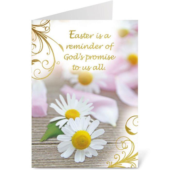 Deluxe Foil God's Promise Faith Easter Cards