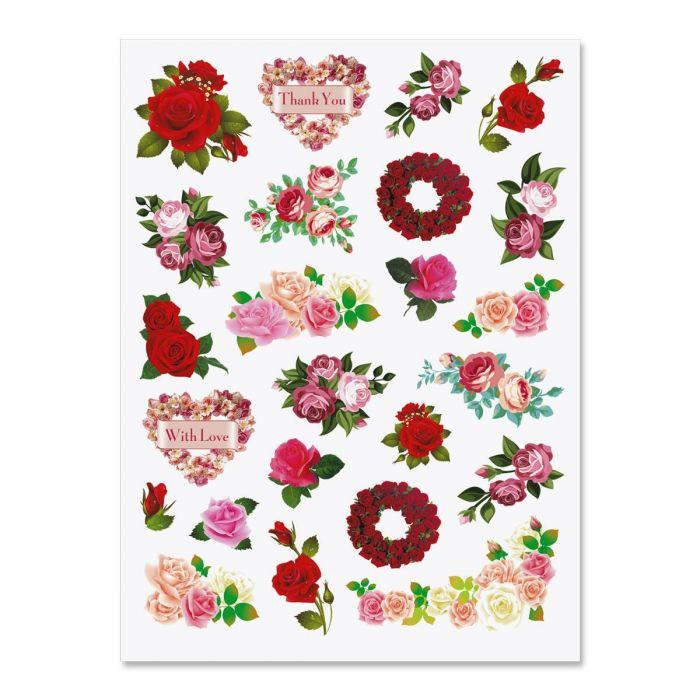 Rose Garden Stickers
