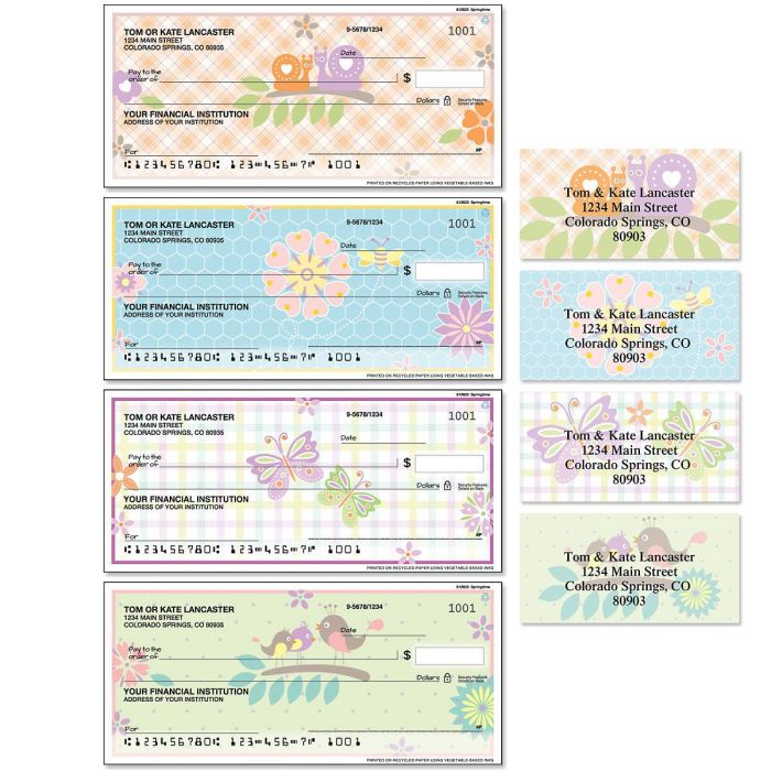 Springtime Duplicate Checks with Matching Address Labels