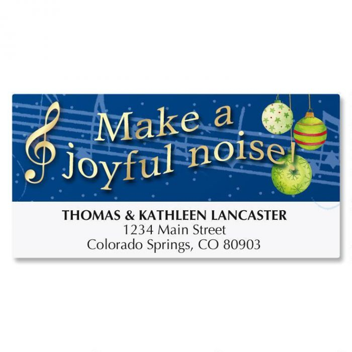 Songs of the Season Address Labels