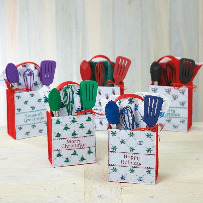 Christmas Cheer Felt Treat Bags