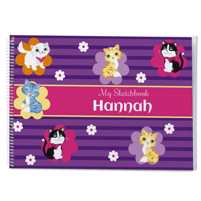 Kitten Cuties Personalized Sketchbook