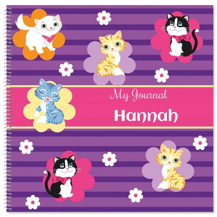 Kitten Cuties Personalized Journal
