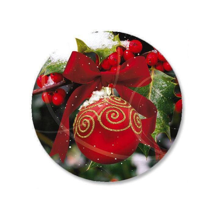 Ornament in Snow Seals