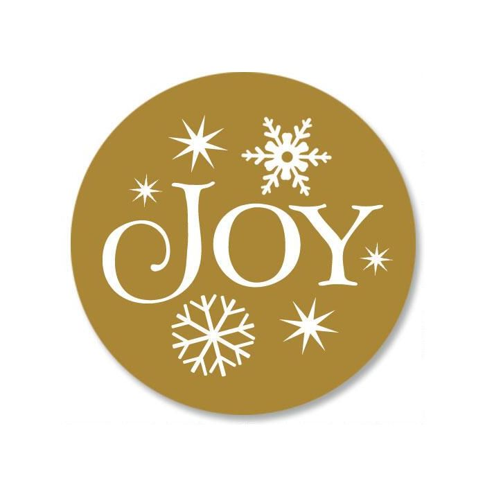 Christmas Tree Envelope Sticker Seals