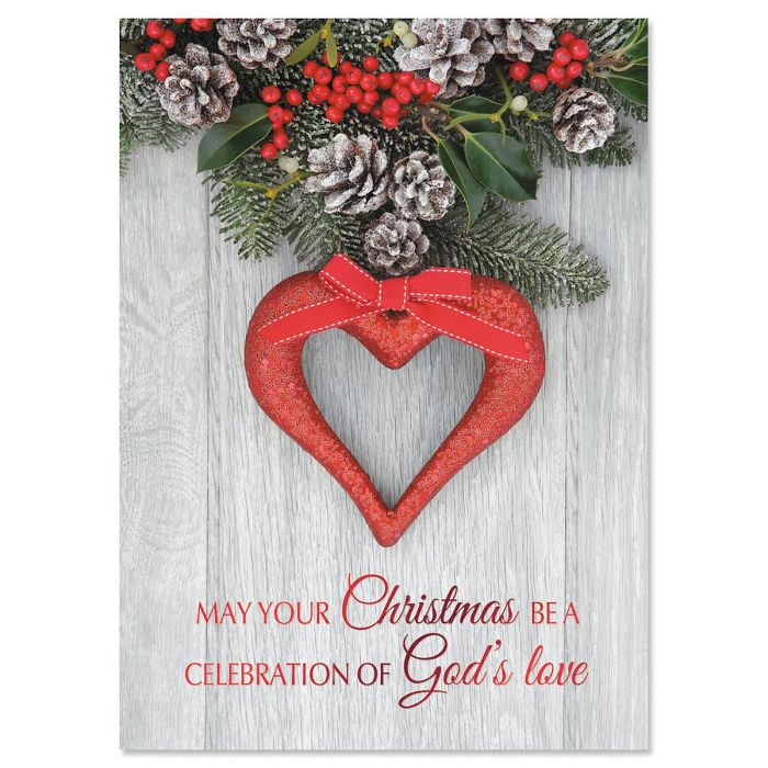 Greatest Gift Deluxe Foil Christmas Cards