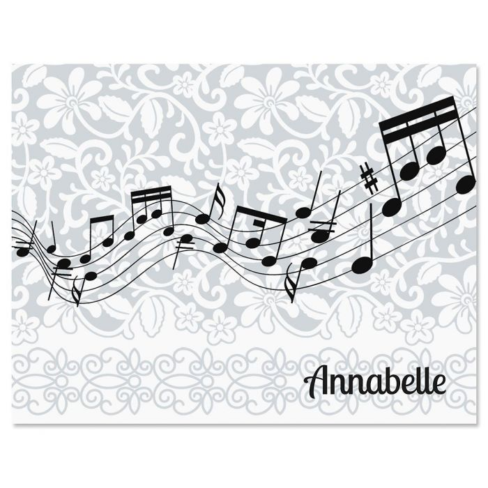 Chorus Line Personalized Note Cards