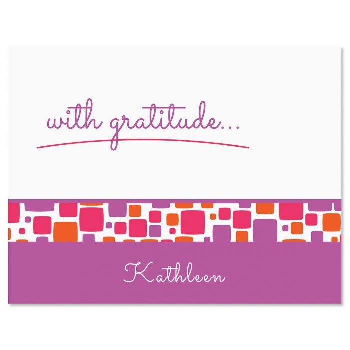 Noteworthy Personalized Thank You Cards