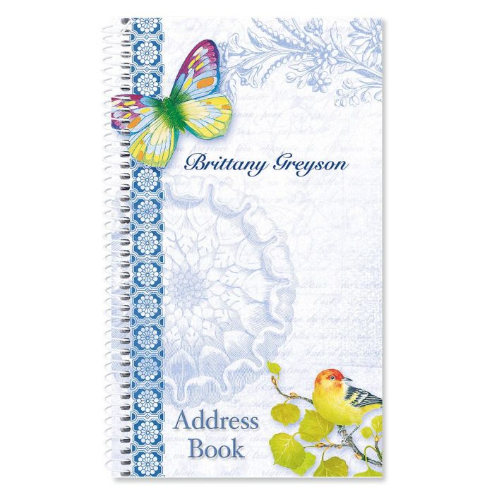 Exotic Prints Lifetime Address Book