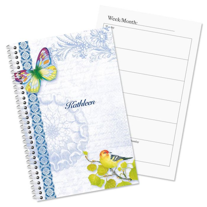exotic prints personalized planner current catalog