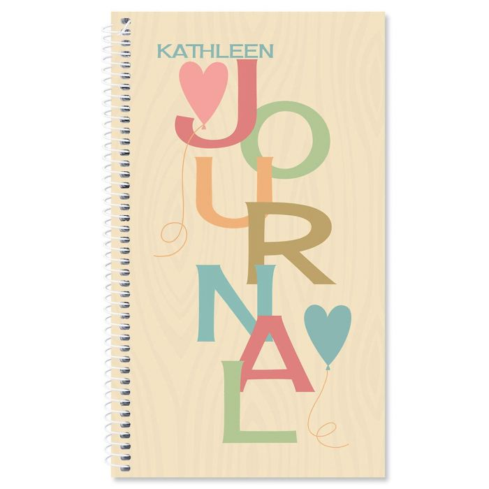 Natural Personalized Journal