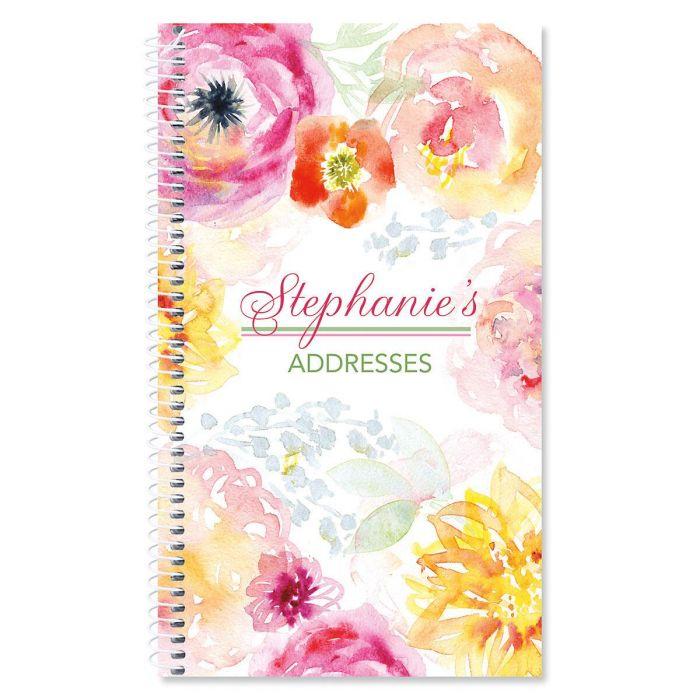 Pretty Posy Lifetime Address Book