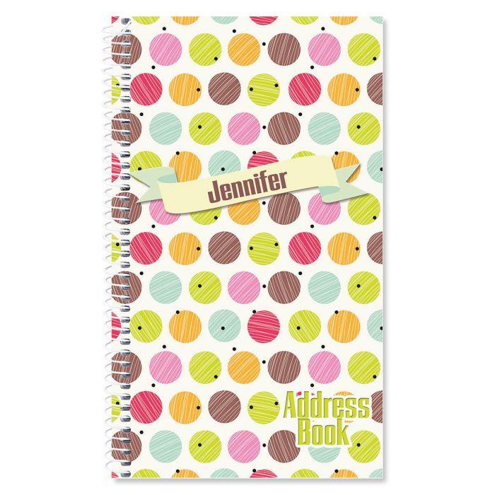 Doodle Dots Lifetime Address Book