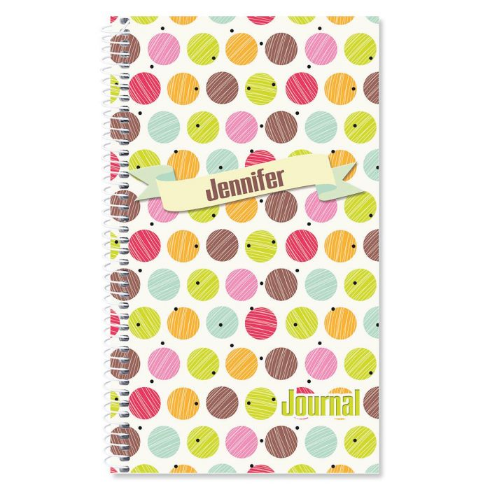 Doodle Dots Personalized Journal