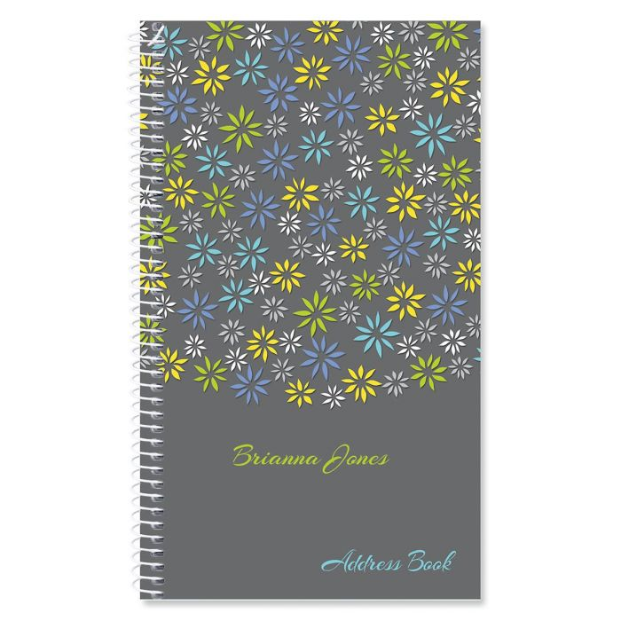 Flower Sky Lifetime Address Book