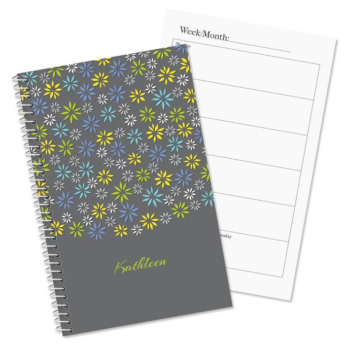 Flower Sky Personalized Weekly Planner