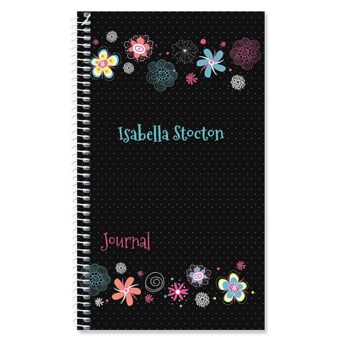 Vibrant Personalized Journal