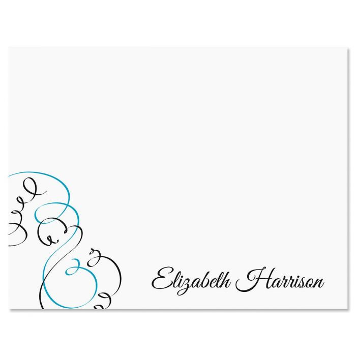 Embellish Personalized Note Cards