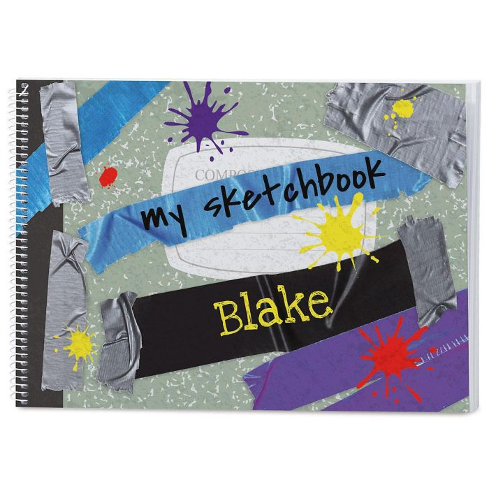 Composition Personalized Sketchbook
