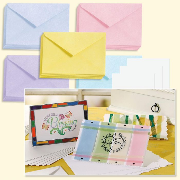 Blank Note Cards Value Pack