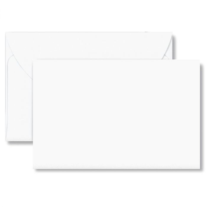 White Greeting Note Card Envelopes