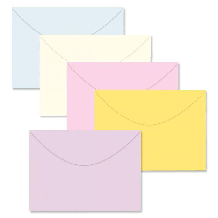 Color Greeting Card Envelopes