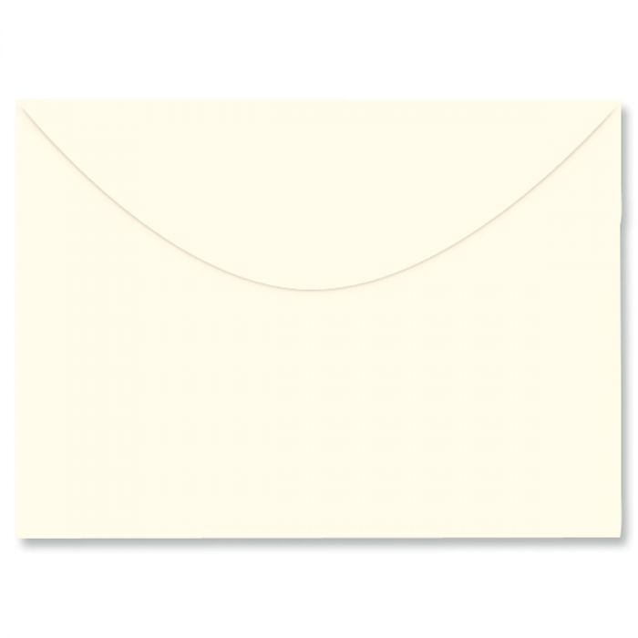 Colored Notecard Envelope - Cream