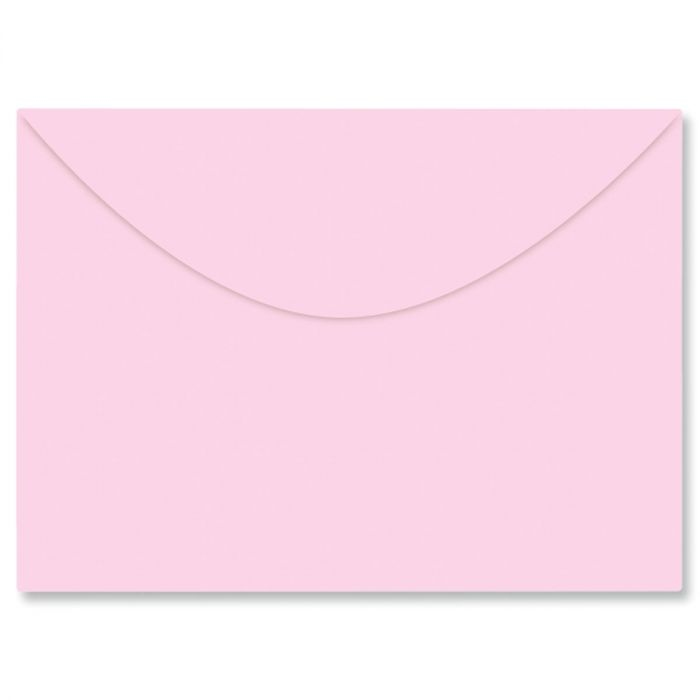 Colored Notecard Envelope - Pink