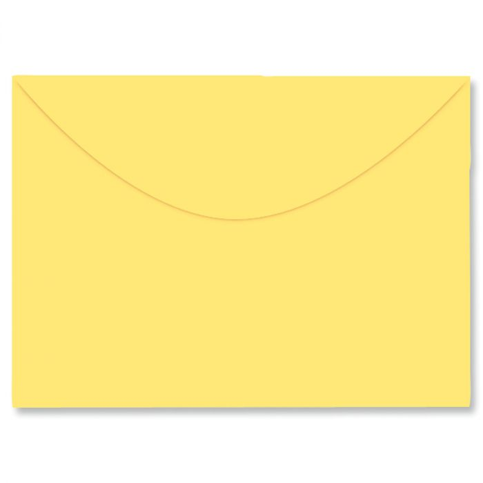 Colored Notecard Envelope - Yellow
