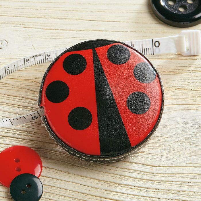 Ladybug Retractable Tape Measure