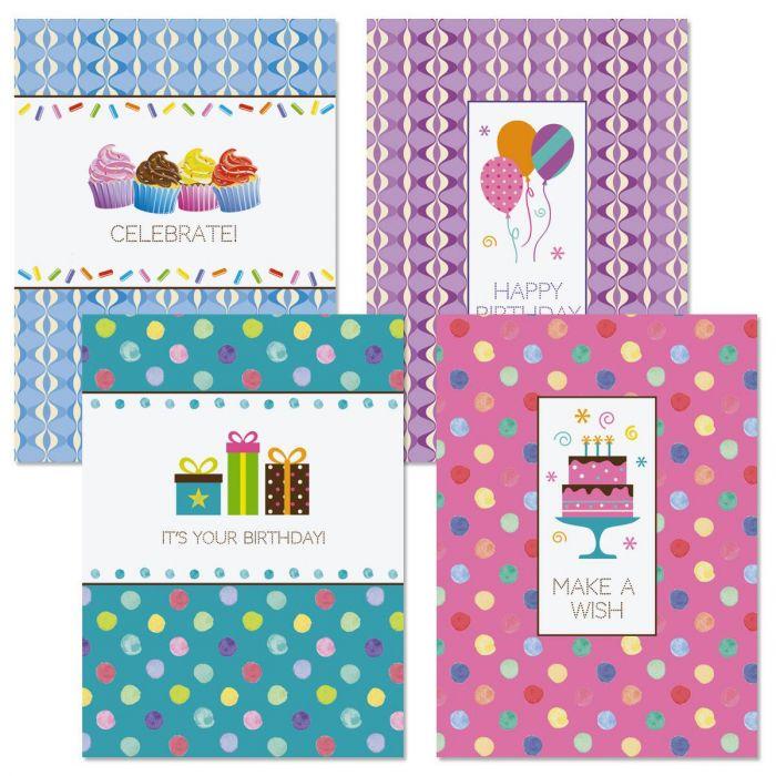 Pattern Icon Birthday Cards