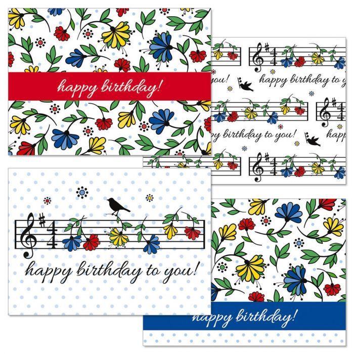 Happy Birthday Music Cards