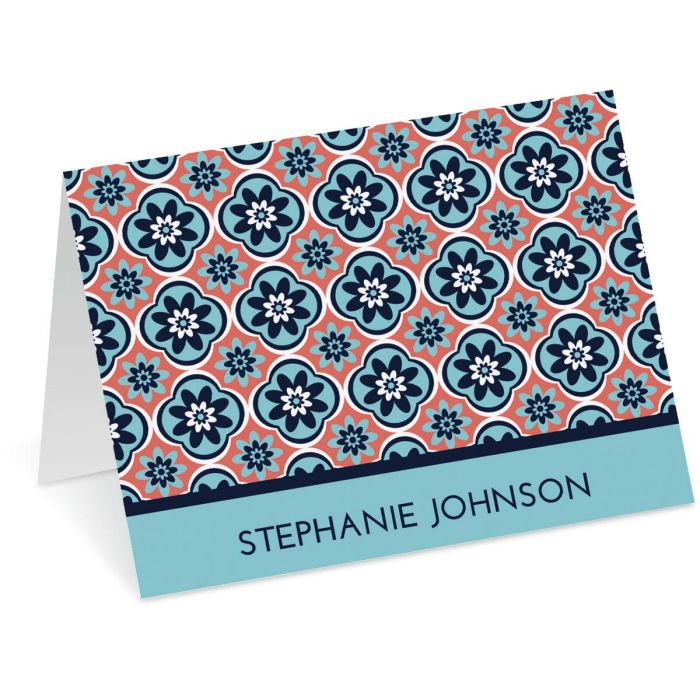 Mosaic Personalized Note Cards