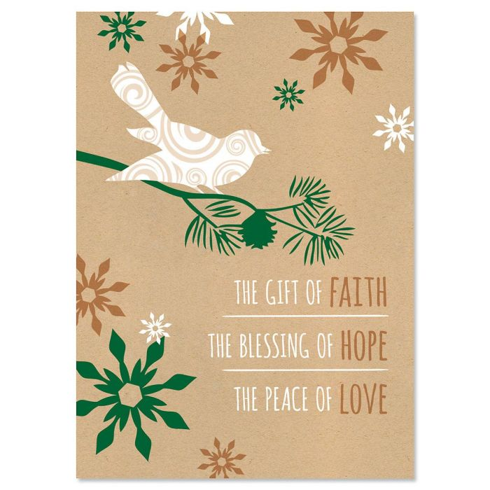 Blessings Religious Christmas Cards