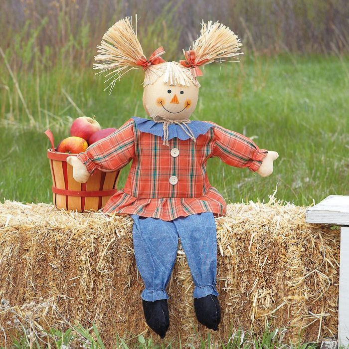 Girl Scarecrow