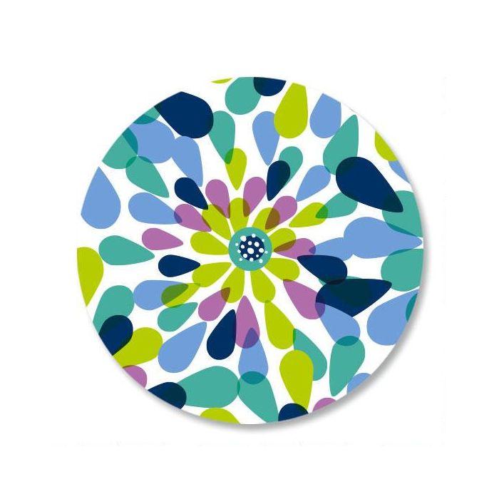 Fresh Blooms Envelope Sticker Seals