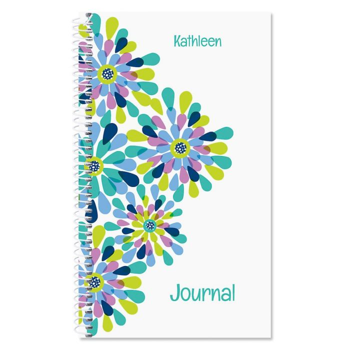 Fresh Blooms Personalized Journal