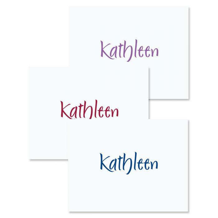 Elegant Correspondence Cards  (3 Color Choices)