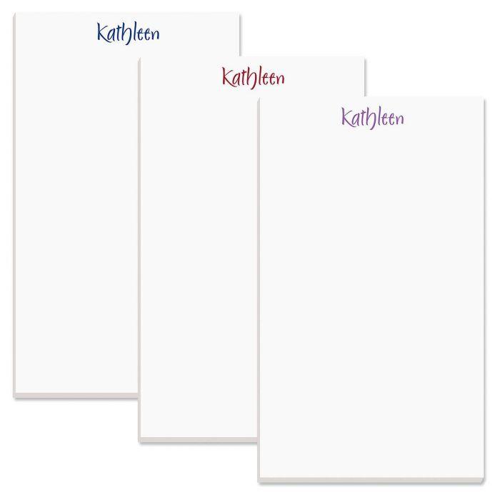 Elegant Personalized Notepads