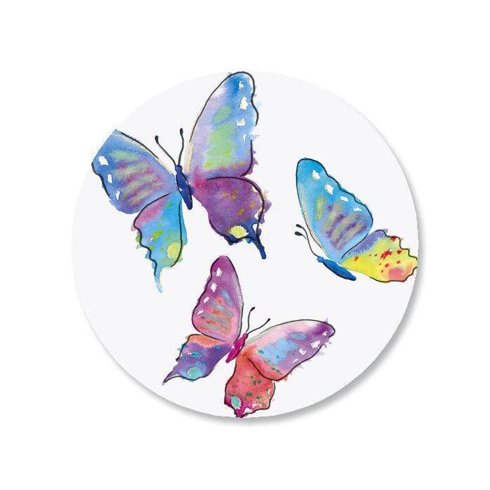 Butterfly Envelope Sticker Seals
