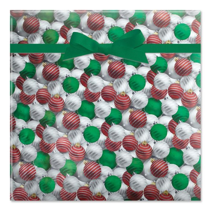 Shiny Ornaments Foil Rolled Gift Wrap