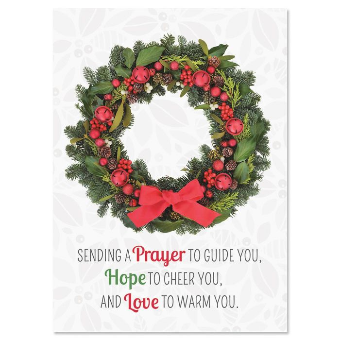 Photo Wreath  Christmas Cards - Nonpersonalized