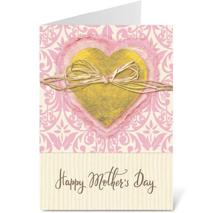 Mom's Heart Mother's Day Card