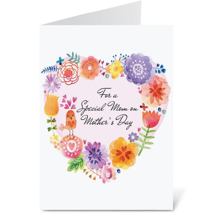 Paintbox Mother's Day Card