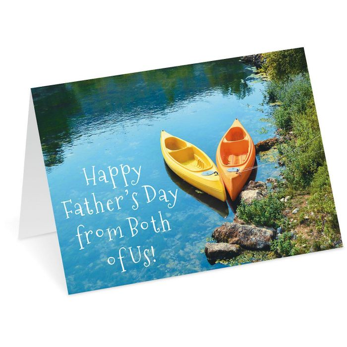 Kayak Father's Day Card