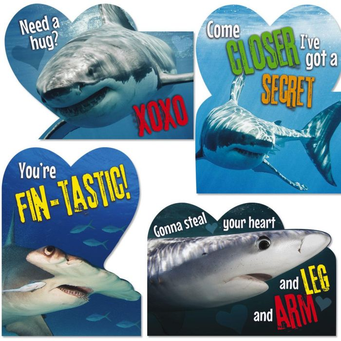 Shark Humor Kids' Valentines