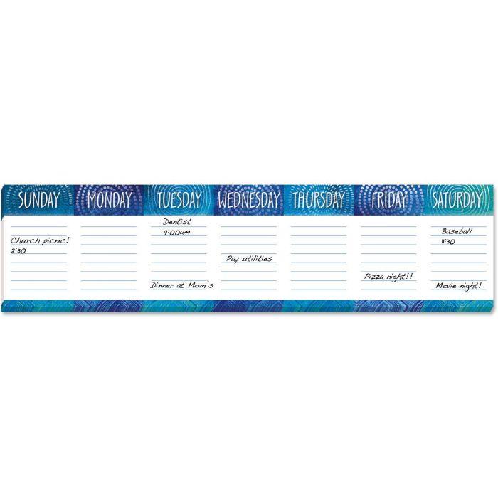 Week At A Glance Calendar Pad