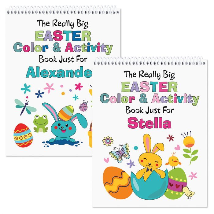 personalized easter activity book current catalog