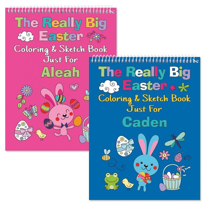 Personalized Easter Coloring Books