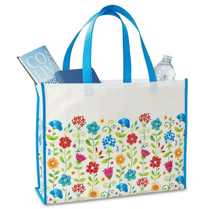 Whimsical Wildflowers Tote Bag - BOGO